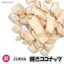 焼きココナッツ 塩味 マレーシア産 ドライフルーツ 送料無料 (焼ココナッツ60g×3P)ココナッツ ココナッツチップ おつまみ おやつ チャンク ココナッツ coconut チャック袋 お試しパック