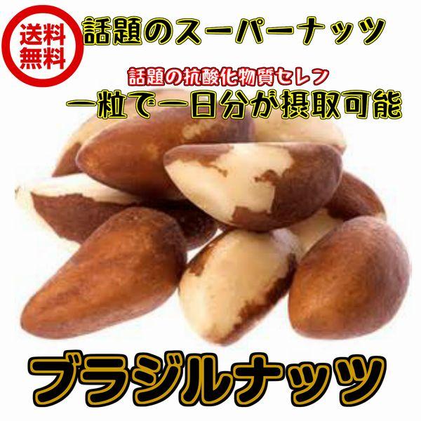 送料無料無塩・無添加生ブラジルナッツ