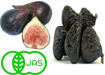 (オーガニック 黒いちじく ブラックミッション種 1kg 100g×10袋)いちじくJAS有機認証 無農薬 ドライフルーツ 送料無料 フォンダンウォーター