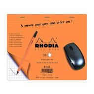 【mousepad】ロディアクリックブロックマウスパッドClicblocmo9usepadRHODIA【19×24cm】