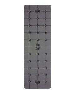 The Gurugrid グルグリッド デラックスヨガマット TPE 厚さ6mm グレー&ブラック