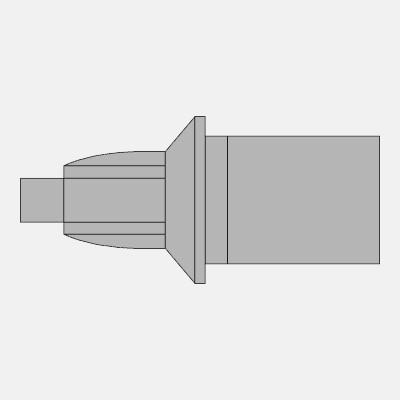 ミズノMIZUNO陸上スパイクピン「トルクスピン グリップタイプ(アタッチメント専用)」8ZA129