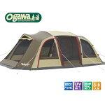 オガワキャンパルOGAWACAMPAL大型キャンピングロッジドームテント5人用「ヴェレーロ5」