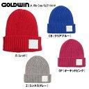 GOLODWINゴールドウィン ジュニア用スキー・スノーボード・ニット帽「Jr. Rib Cap」GJ71501P