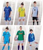 FLORIDAWINDジュニア用サッカーユニフォーム3点セット「胸マーク、胸番号、背番号、腰番号付」