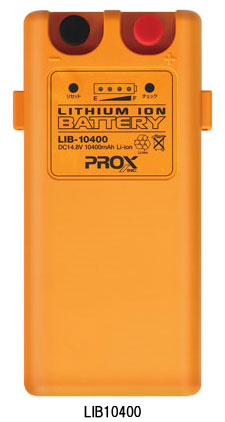 プロックス(PROX) リチウムイオンバッテリー(LIB10400):フィッシングタックルオンライン