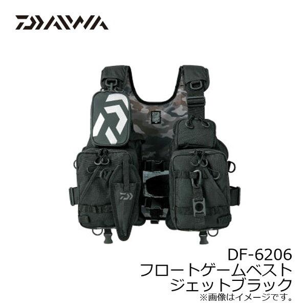 ダイワ(Daiwa)DF-6206フロートゲームベストジェットブラックフリー/ライフジャケット 釣具釣り具