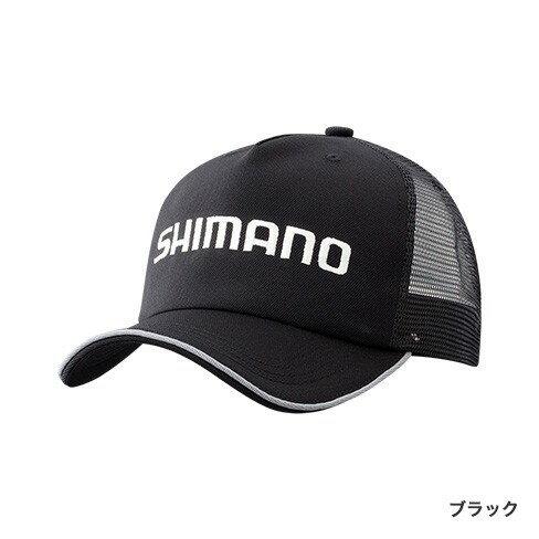 シマノ(Shimano) CA-042R スタンダードメッシュキャップ F ブラック シマノ(Shimano) 帽子 刺繍ロゴ 【釣具のFTO 10/20(火)は楽天カードでポイント最大8倍】