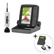 ホンデックスPS-611CN-WP-BMワカサギパックBMOバッテリーセットポータブルGPSプロッタ魚探/ワカサギ釣り魚探HONDEX