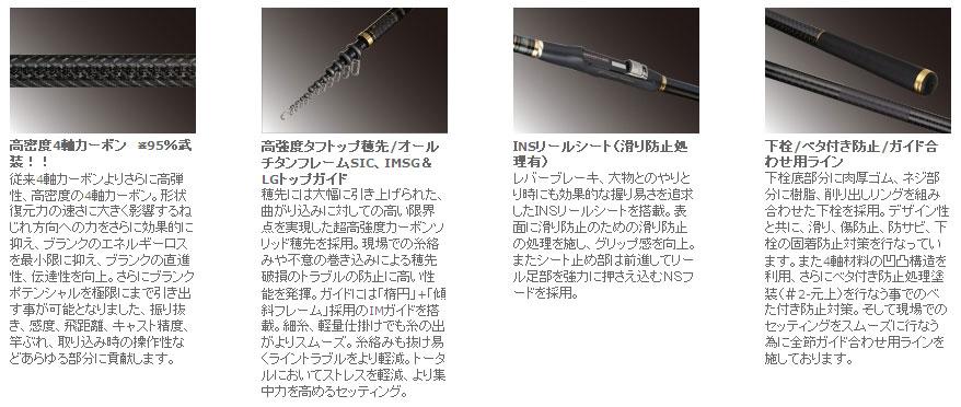 宇崎日新 ゼロサム磯 弾X4(ZEROSUM磯) TYPE 0 530
