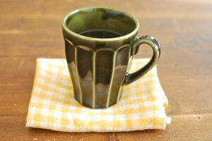 モスグリーン マグカップ