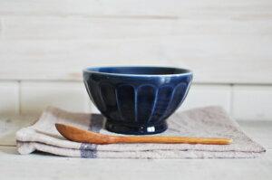 カフェ食器 ネイビーブルー カフェオレボウル 洋食器 【SALE/fuccaお値打ち価格/美濃焼/カフェオレボール】