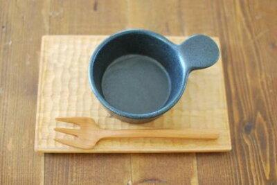 ~大人気食器 カフェ食器 美濃焼き♪~【4月のSALE fucca限定価格】手つきミニパン 黒