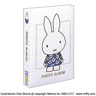 アルバム ナカバヤシ ディック・ブルーナ ミッフィー 1PLポケットアルバム 1PL-158-W ホワイト 【写真 大容量 300枚収納 かわいい フォトアルバム ベビー】 #103#