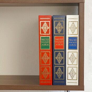 ナカバヤシ1PLポケットアルバムヴァース1PL-152-Rレッド・写真・左側の商品になります。/写真収納大容量フォトアルバム#103#