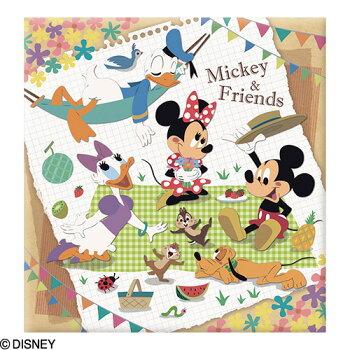 ナカバヤシディズニーキャラクターLサイズフエルアルバム/プラコート台紙(白)10枚ミッキー&フレンズア-LP-134【Disneyzone】#101#