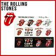 【The Rolling Stones】ローリングストーンズ12タンロゴ ステッカーシート