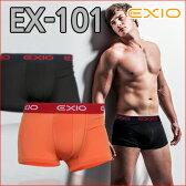 ボクサーパンツ メンズ ローライズ   全8色 M L XL  【EXIO】 エクシオ ボクサーブリーフ 単品 ( ボクサー パンツ 下着 お得 まとめ買い 福袋 大きいサイズ 男性 ブリーフ アンダーウェア メンズインナー ベストセラー 人気 )