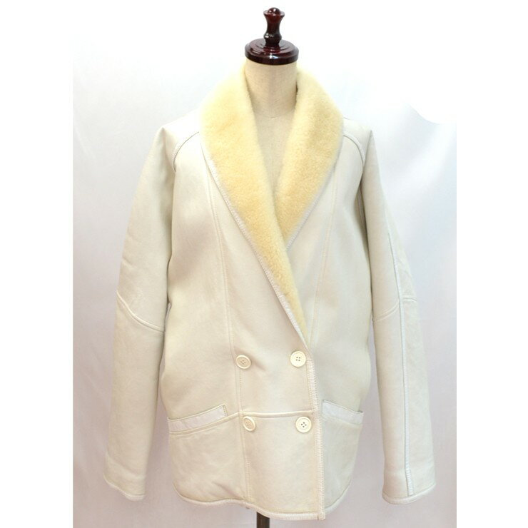 0eac9b235b7c セリーヌ 通販 サイズ38 アウター ムートンジャケット 激安 中古 送料無料 レディースムートンコート , 内側のふわふわしたムートン素材が上品な ジャケットです ...