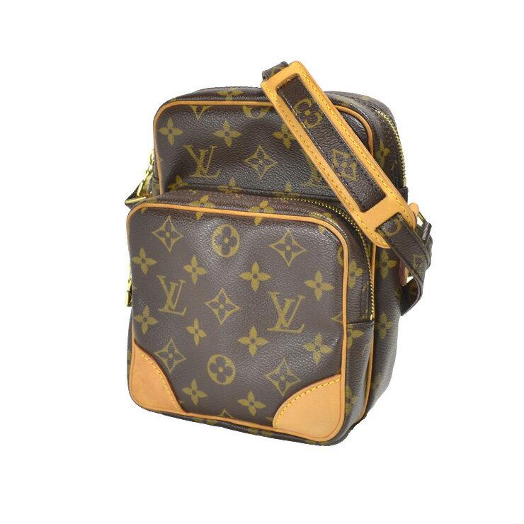 ルイヴィトン モノグラム アマゾン M45236 ブラウン ルイヴィトン ショルダーバッグ ヴィトン バッグ Shoulder Bag LOUIS VUITTON 【中古】:ブランドリサイクルストアスマイル