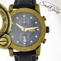 ヴィヴィアンウエストウッドメンズ腕時計CAGEMウォッチアンティークゴールドVW.2863VivienneWestwood文字盤ネイビークオーツ【中古】【送料無料】