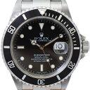 【中古】 ロレックス サブマリーナ メンズ腕時計 16610 K番 ブラック文字盤 オートマ ROLEX [送料無料]