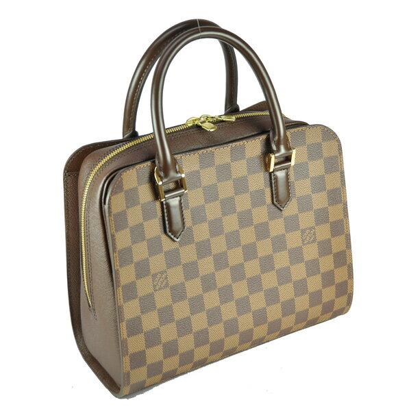 ■ Louis Vuitton ルイヴィトン ダミエ トリアナ ハンドバッグ N51155 ランクSA:ブランドリサイクルストアスマイル