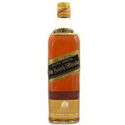 【中古】ウイスキー ジョニーウォーカー ブラックラベル 特級 金キャップ スコッチ 760ml 43度 SCOTCHWHISKY JohnnieWalker [送料無料][未開栓]