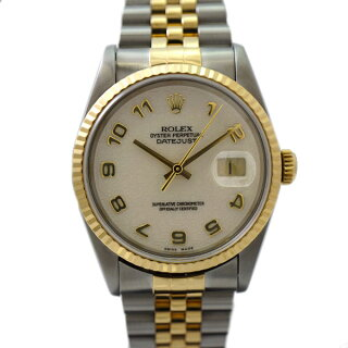 ロレックス腕時計デイトジャスト16233ROLEXP番コンピュータ文字盤メンズ自動巻き【】【送料無料】