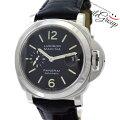 パネライ腕時計ルミノールマリーナPAM00104PANERAIメンズブラック自動巻き【中古】【送料無料】