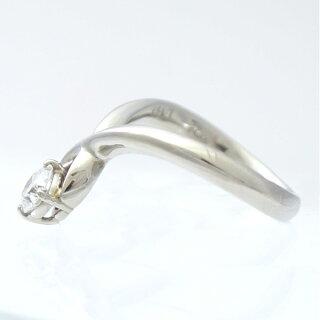 リング指輪ソーティング付Pt900ダイヤモンド0.507ct10.5号SI-2プラチナダイヤレディースジュエリー【】【送料無料】【美品】