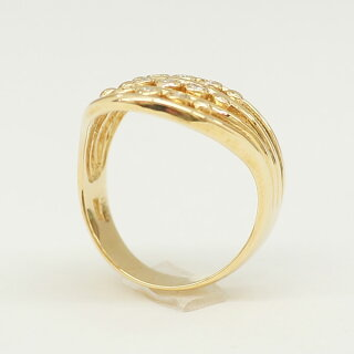 【スーパーSALE】リング/指輪/ダイヤモンド/0.10ct/K18/13号【】【送料無料】