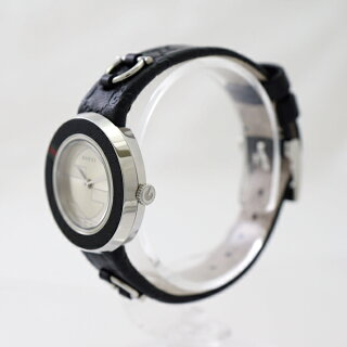 GUCCI/グッチ/Uプレイ/クォーツ/腕時計/YA129515/レディース/替えベゼル・ベルト付【】【送料無料】