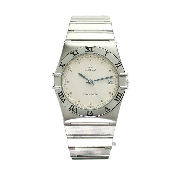 OMEGA オメガ コンステレーション SS メンズ腕時計 396.1070 クオーツ ホワイト文字盤【中古】:ブランドリサイクルストアスマイル