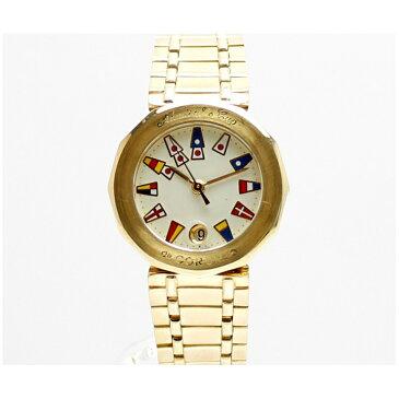 CORUM コルム アドミラルズカップ K18 レディース 腕時計 39910.56V85 アイボリー文字盤【中古】【送料無料】