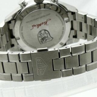 TAGHEUERタグホイヤーカレラジャックホイヤー世界3000本限定SSメンズ腕時計CV2119自動巻きシルバー文字盤[][送料無料]