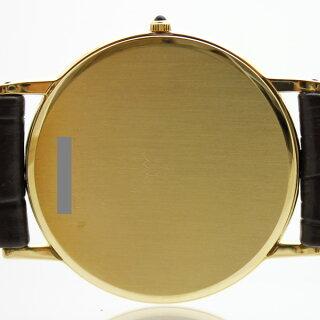SEIKO/セイコー/クレドール/K18/メンズ腕時計/8J80-7000/アイボリー文字盤/ローマ数字/社外ベルト【中古】【送料無料】