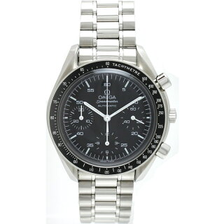 OMEGAオメガスピードマスター腕時計SSメンズ3510.50自動巻きブラック文字盤[][送料無料]