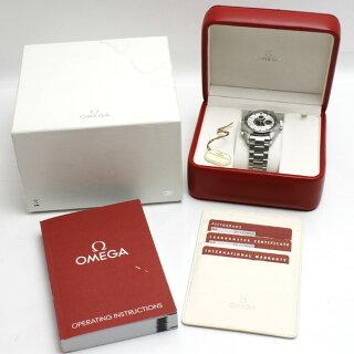 OMEGAオメガシーマスターアクアテラクロノ腕時計SSメンズNZL-322513.30自動巻きシルバー文字盤[][送料無料]