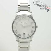 ティファニー メンズ腕時計 アトラスドーム Z1800.11.10A21A00A TIFFANY&Co. SS クオーツ ホワイト文字盤【中古】【送料無料】