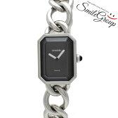 シャネル レディース腕時計 プルミエール XL H0452 CHANEL ブラック文字盤 クオーツ【中古】【送料無料】