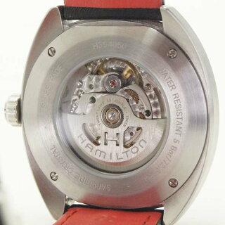 ハミルトンメンズ腕時計パンユーロH35405741HAMILTONSS自動巻きブルー文字盤【】【送料無料】