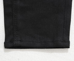 """【2020S/S新作】""""GOSTARDEFUGA【ゴスタールジフーガ】ブラックストレッチデニムスキニーパンツ/Black""""【返品・交換対象商品】スリムパンツメンズ20代30代40代ファッションタイトブラックパンツ黒ブラックスキニーパンツブラックデニムパンツ"""