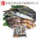 【送料無料 】 佐渡天然お魚セット 標準タイプ[下処理済]