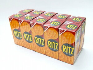 ヤマザキナビスコ リッツ RITZ 箱 13枚入り×10箱 クラッカー まとめ買い