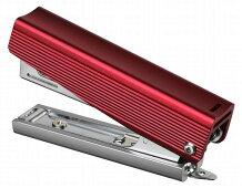 MAXホッチキスアルミ素材HD-10X/ALレッドHD91801ステープラー