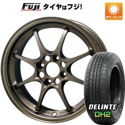 タイヤ・ホイール, サマータイヤ・ホイールセット  RAYS VOLK CE28N 5.5J 5.50-15 DELINTE DH2() 16550R15 15 4
