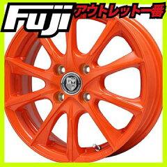 【送料無料】 PREMIX プレミックス マオウ(オレンジ) ホイール単品4本セット 5.00-16 16インチ