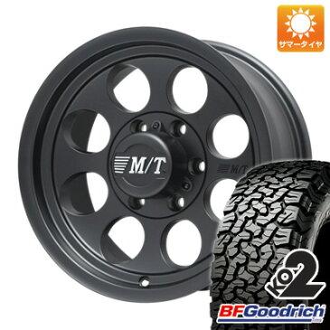タイヤはフジ 送料無料 MICKEY-T ミッキートンプソン クラシック3 ブラック 8J 8.00-15 BFG BFグッドリッチ オールテレーンT/A KO2 RWL/RBL 31X10.5R15 サマータイヤ ホイール4本セット