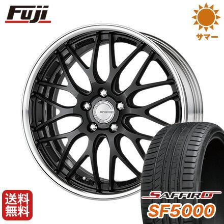 タイヤはフジ 送料無料 WORK ワーク グノーシスHR 201 7.5J 7.50-19 SAFFIRO サフィーロ SF5000(限定) 225/35R19 19インチ サマータイヤ ホイール4本セット